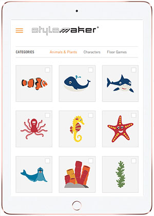 Melos Stylemaker -suunnitteluohjelma